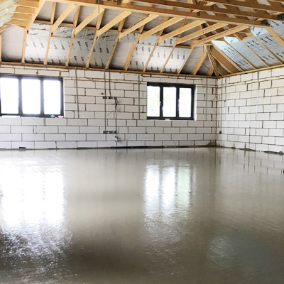 screeding services London