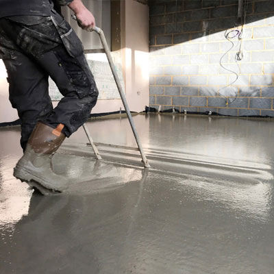 Nottingham liquid screed